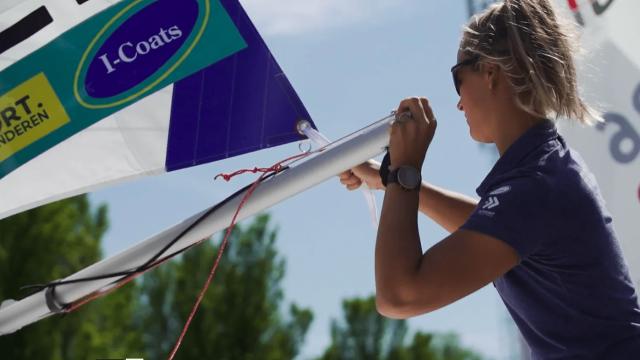 Interview with Emma Plasschaert | Allianz Regatta 2021